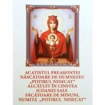 Acatistul Potirul Nesecat