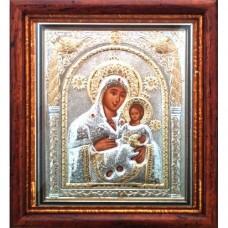 Icoana Maica Domnului Betleem, Argintata / Aurita 15.5 / 17 cm