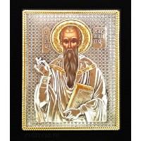 Icoana Sfantul Haralambie, Argintata 19 / 24 cm