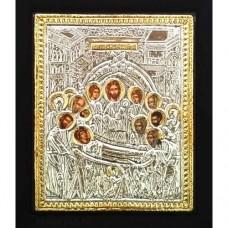 Icoana Adormirea Maicii Domnului, Argintata 19 / 24 cm