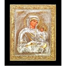 Icoana Sfanta Ana, Argintata / Aurita