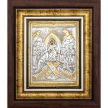Icoana Invierea Domnului, Argintata / Aurita 25X30 cm