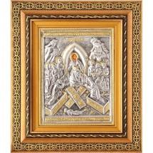 Icoana Invierea Domnului, Argintata 32 / 38 cm