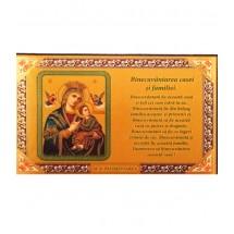 Icoana Binecuvantarea Casei Maica Domnului Izbavitoarea