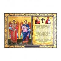 Icoana Binecuvantarea Casei Sfintii Arhangheli Mihail si Gavriil