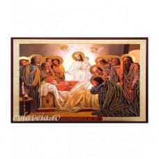 Icoana Adormirea Maicii Domnului, litografie 15 / 18 cm