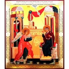 Icoana Buna Vestire, litografie 18 / 22 cm