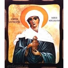 Sfanta Mironosita Maria Magdalena 16 /21 cm, Pirogravura
