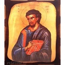 Icoana Sfantul Apostol Luca 16 /21 cm, Pirogravura