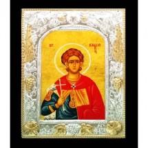Icoana 19X24 cm, Sfantul Caliopie