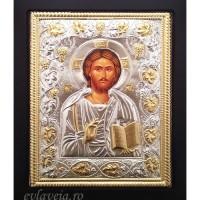 Icoana Metal / Lemn, Mantuitorul Iisus Hristos