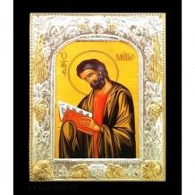 Icoana Lemn / Metal 19 / 24 cm Sfantul Apostol Marcu