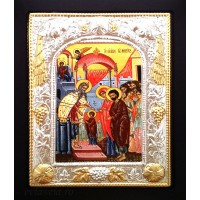 Icoana Metal / Lemn, Intrarea Maicii Domnului în Biserica