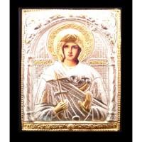 Icoana Lemn / Metal Sfanta Mucenita Marina 19 / 24 cm