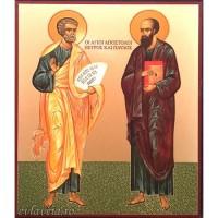Icoana Sfintii Apostoli Petru si Pavel 11 / 13 cm