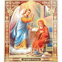 Icoana Buna Vestire, litografie 20.5 / 24.5 cm