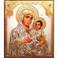 Icoana Maica Domnului de la Ierusalim, litografie 20 / 24 cm