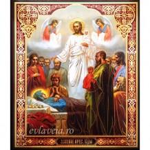 Icoana Adormirea Maicii Domnului, litografie 20.5 / 24.5 cm