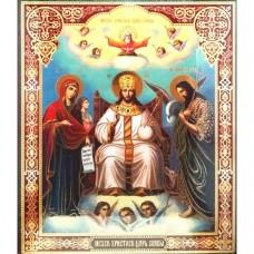 Icoana Iisus Hristos, litografie 20.5 / 24.5 cm