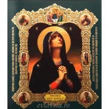 Icoana Maica Domnului Tanguirea, medalion 15 / 18 cm