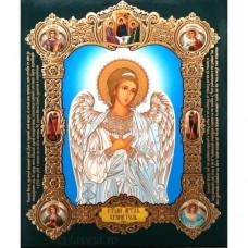 Icoana Sfantul Inger Pazitor, medalion 15 / 18 cm