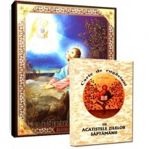 Carte de Rugaciuni si Icoana Iisus Hristos in Gradina Ghetsimani