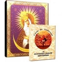 Carte de Rugaciuni si Icoana Maica Domnului Ocrotitoarea Noptii