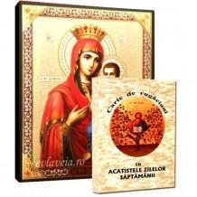 Carte de Rugaciuni si Icoana Maica Domnului Portarita