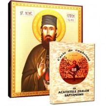 Carte de Rugaciuni si Icoana Sfantul Efrem cel Nou