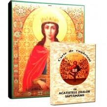 Carte de Rugaciuni si Icoana Sfanta Ecaterina