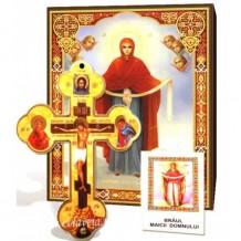 Braul Maicii Domnului _ Icoana, Cruce de Perete si Acatist