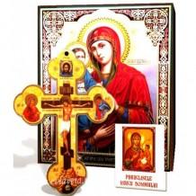 Icoana Maicii Domnului cu 3 maini _ Cruce de Perete si Acatist