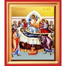 Icoana Adormirea Maicii Domnului, pictata 19 / 25 cm
