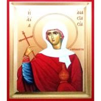 Icoana Sfanta Anastasia, pictata 19 / 25 cm