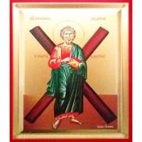 Icoana Sfantul Apostol Andrei, pictata 19 / 25 cm