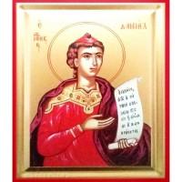 Icoana Sfantul Prooroc Daniel, pictata 19 / 25 cm