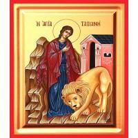 Icoana Sfanta Tatiana, pictata 19 / 25 cm