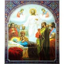 Icoana Adormirea Maicii Domnului, litografie 30 / 40 cm