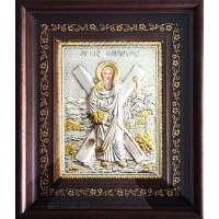 Icoana Sfantul Apostol Andrei 26 / 32 cm, Argintata